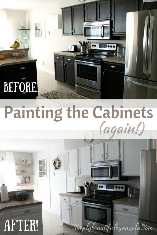 164 best the best of simply beautiful by angela images on for Repainting white kitchen cabinets