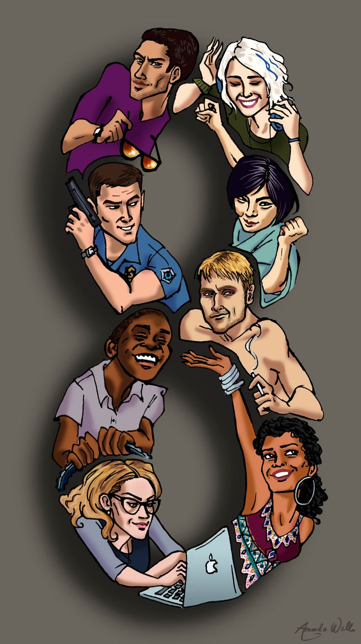 Sense8 Fan Art - The Sensates by Bumblie-Bee.deviantart.com on @DeviantArt