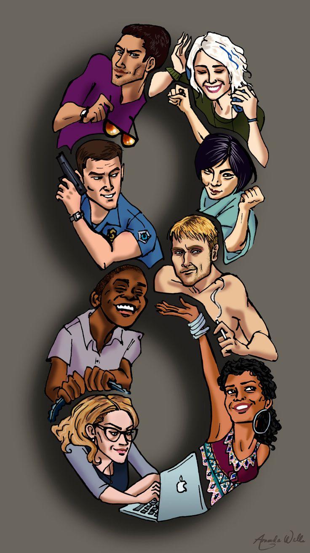Sense8 Fan Art - The Sensates by Bumblie-Bee.deviantart.com on @DeviantArt
