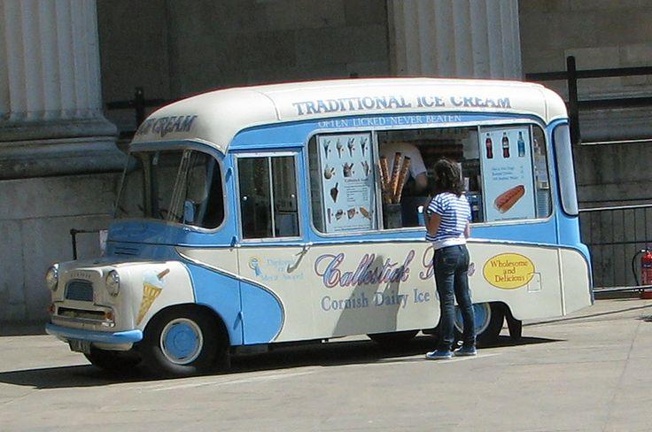 Bedford Based Vintage Ice Cream Van In London Ice Cream