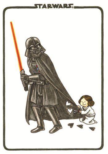 Vader's Little Princess Flexi Journal (Darth Vader and Son)