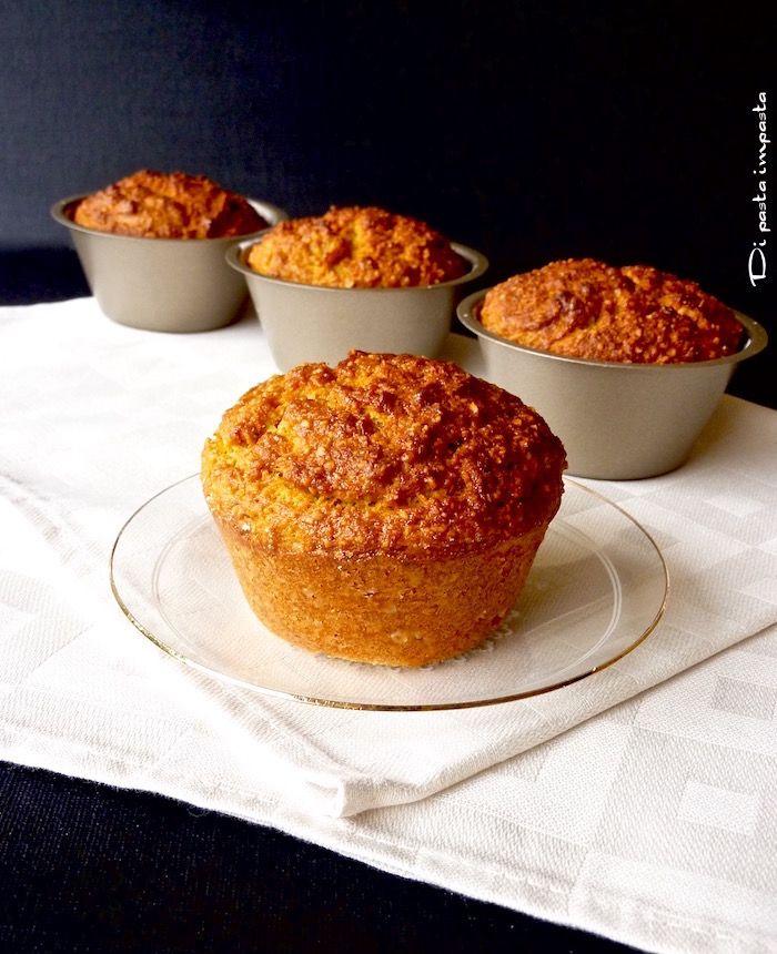 Di pasta impasta: Muffins di farro e carote alle nocciole (con scart...