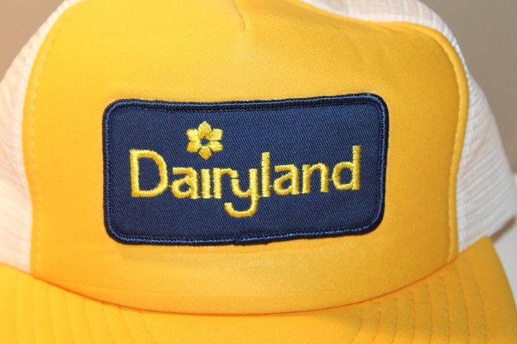 Dairyland Milk Company Canada Mens Hat Cap Snapback M/L #Wilson #Hat