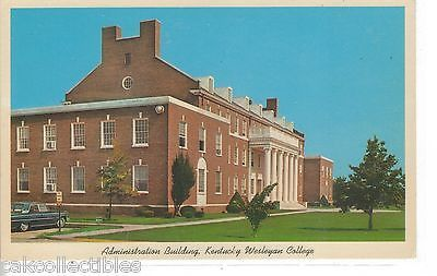 Administration Building,Kentucky Wesleyan College-Owensboro,Kentucky