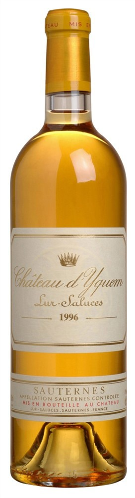 It's been years since I've had a Chateau d'Yquem, but it is the finest sweet wine ever made. Sauternes are truly delicious.