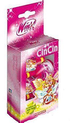 12 Bottigliette sparacoriandoli per bambini - Cin Cin Winx Enchantix proiezione di stelle filanti per feste di compleanno