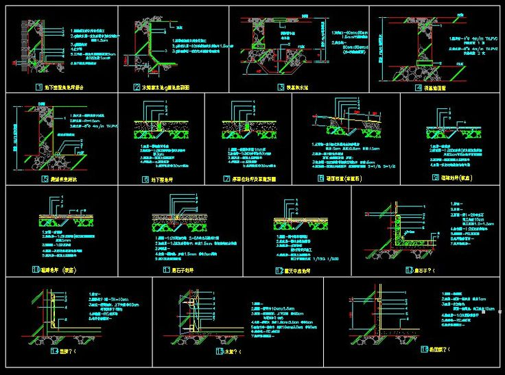 Building Details】★ Cad Library Autocad Blocks Autocad