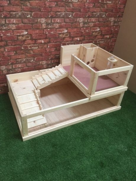 Guinea Pig Enclosure with side loft                                                                                                                                                                                 More