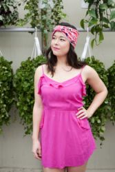 I have this thing with pink. It's just the best colour! Turban Headband by http://www.mapleandoakdesigns.com