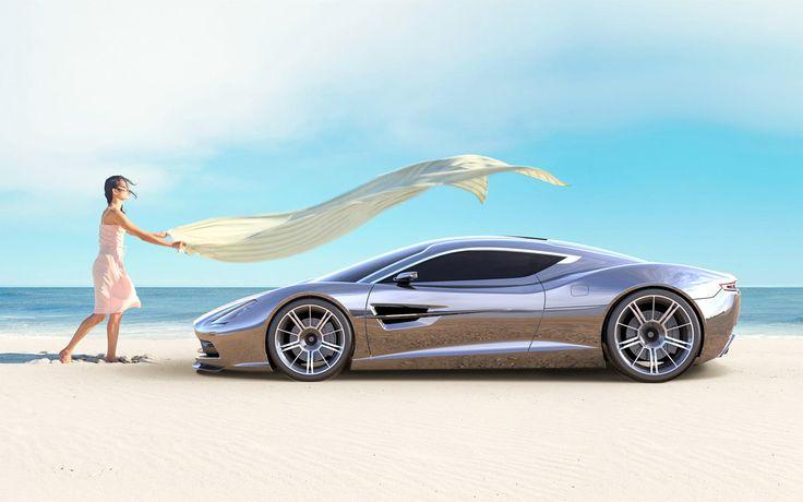 Aston Martin DBC Concept Design by Samir Sadikhov