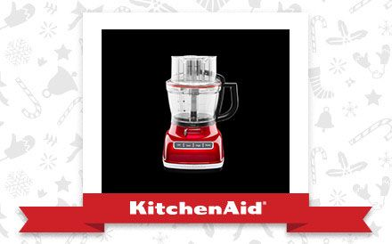 The Candy Apple Architect™ 14-Cup Food Processor is the appliance of my holiday dreams. Declare and Share your favourite KitchenAid small appliance for a chance to win it!