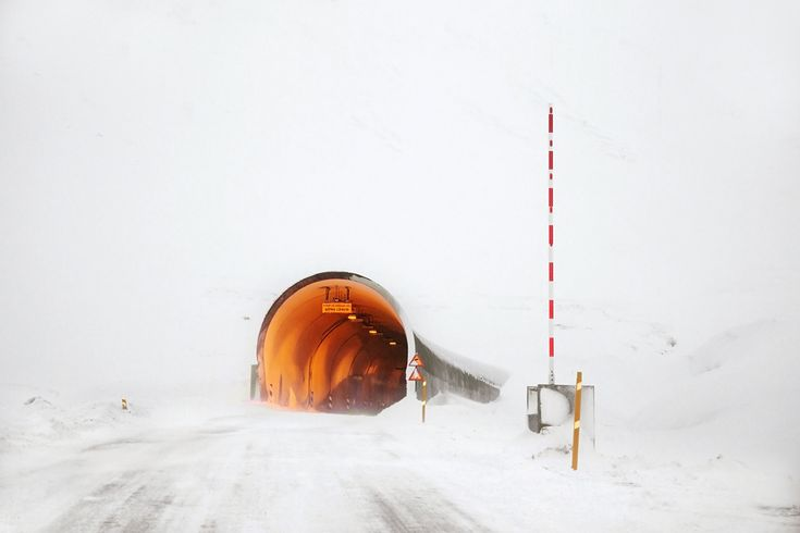 The Tunnel by Christophe Jacrot photography | Snjór (snow) Series