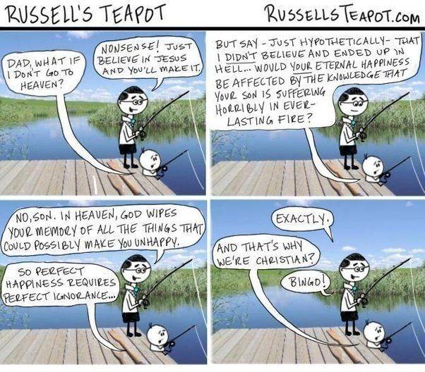 Russell's teapot