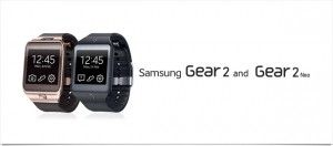 Gear 2 & Gear 2 Neo: les deux nouveaux smartwatch de Samsung