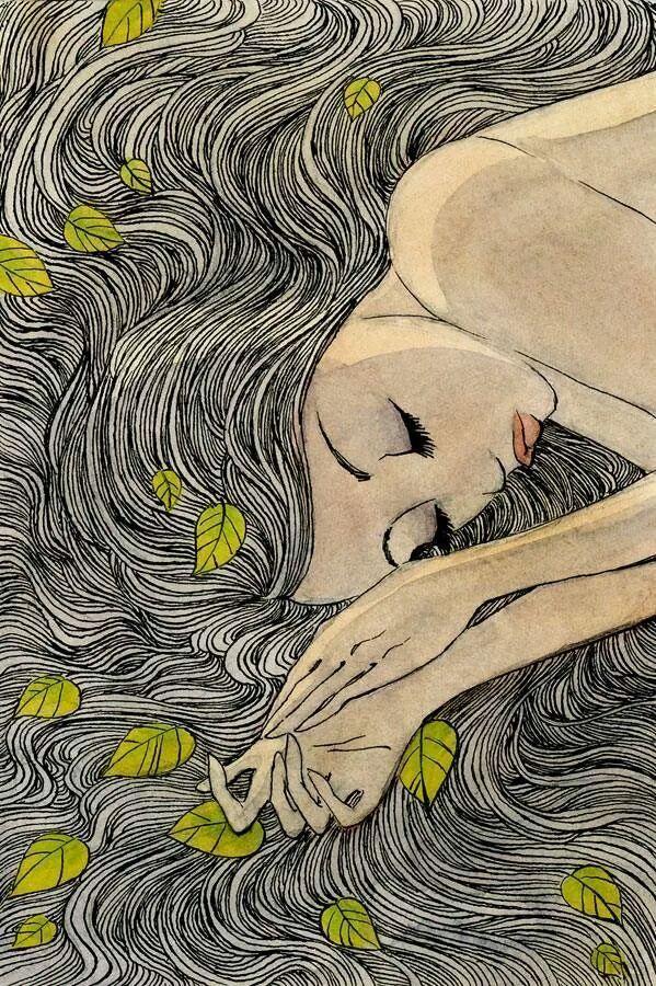 tra fili di vento gocce di sogni riposa il cuore