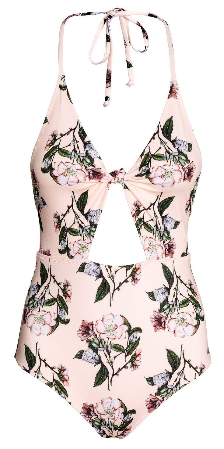 Un maillot de bain une pièce H&M / One-piece swimsuit H&M