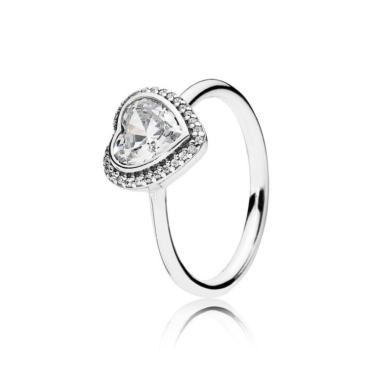 Sparkling Love, Clear CZ - 190929CZ - Rings   PANDORA