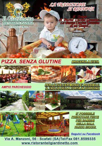 Pizza senza glutine..RISTORANTE - PIZZERIA IL GIARDINETTO
