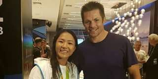 Lydia Ko & Richie at Rio games
