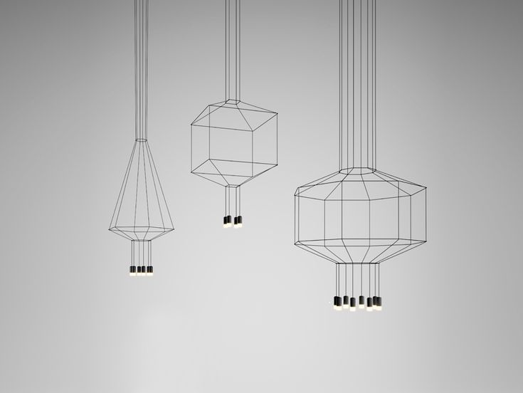 Most minimalist lighting projects shun wires, treat them like an eyesore that should be hidden from view. Paris based designer Arik Levi embraced the enemy and made it a focal point of his pendant light collection Wireflow for the Spanish brand Vibia. These lights consist of thin extra long metal rods with the LED fixtures on its ends. These long wires can create various two- and three-dimensional geometric shapes.