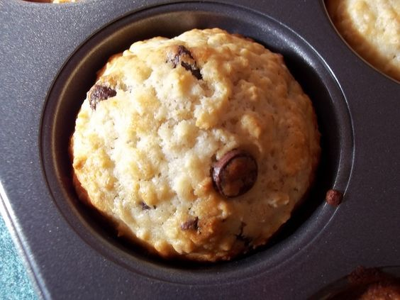 Oatmeal Muffin Recipes! Chocolate Chip, Lemon Cranberry, Blueberry, Orange Date, Peach Almond, Banana Chocolate and Applesauce Raisin. Yum!