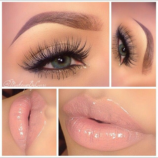 Neutral and beautiful makeup ideas