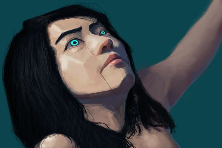 M a c h ! n e design sketch photoshop draw painting art face machine robot