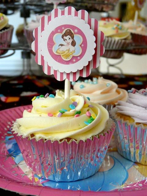 Beauty & the Beast Birthday by Sugar Daze, via Flickr