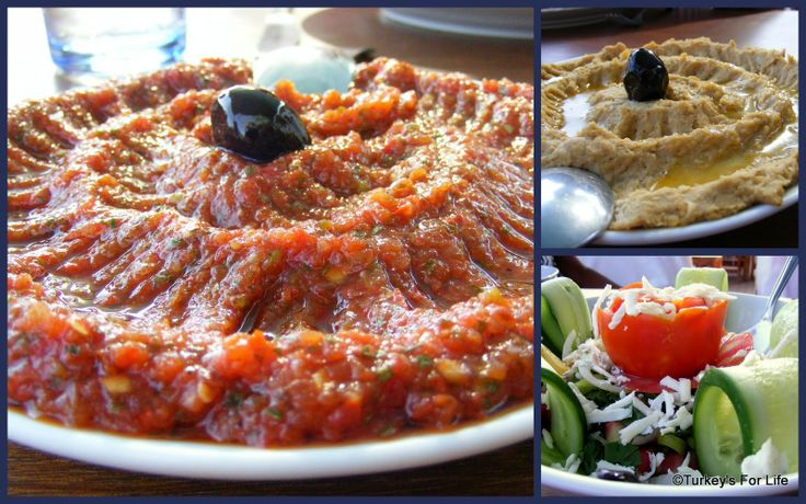Turkish Meze Dishes at the Olive Garden Restaurant, Kabak, Turkey