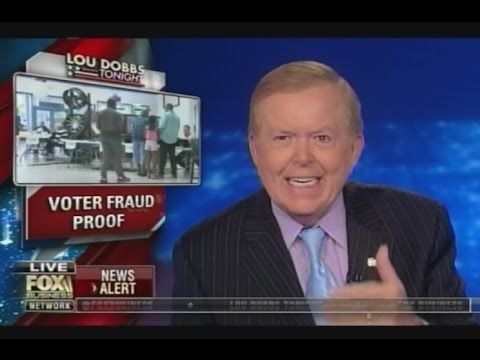 Lou Dobbs: Voter Fraud Proof – 18 Million Invalid Registration and 2 Million Are Dead – 'Nox & Friends