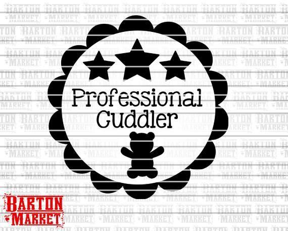 Professional Cuddler SVG / EPS / PNG