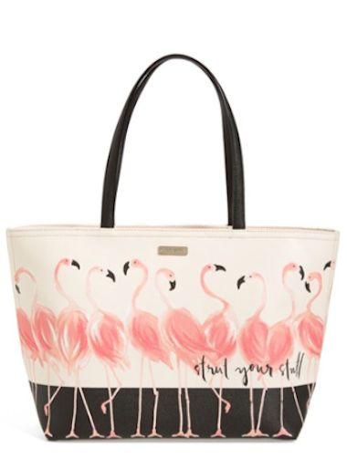cute flamingo tote