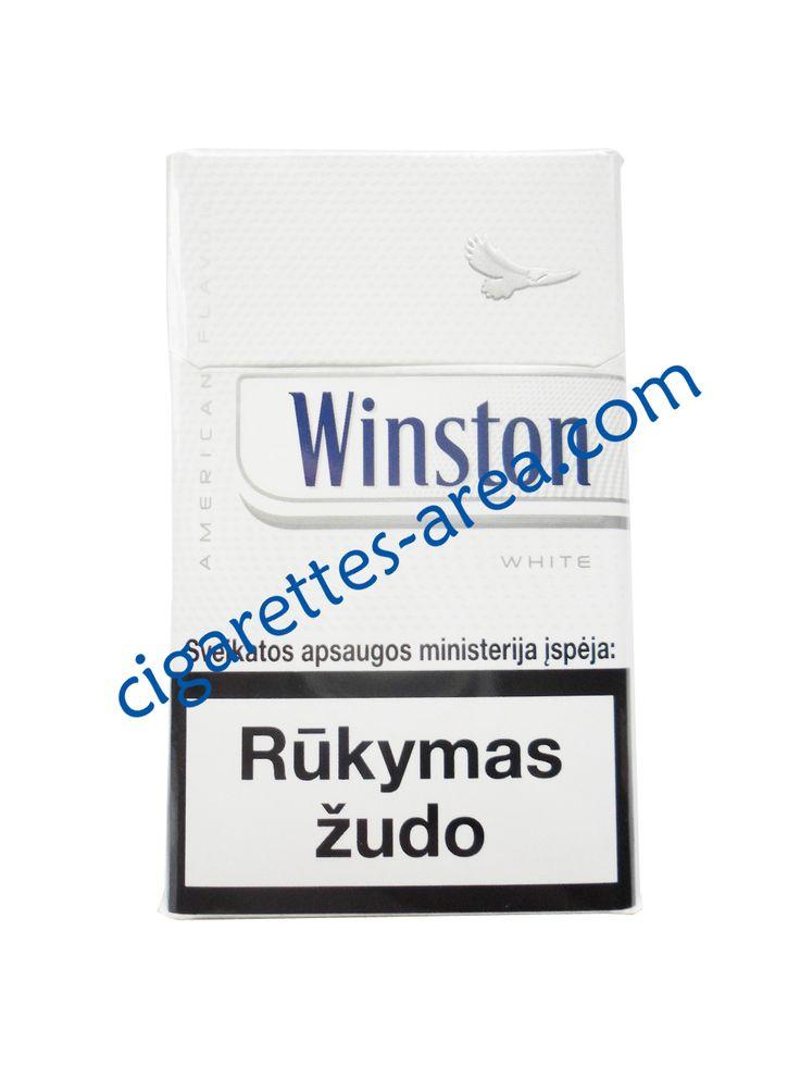 WINSTON White cigarettes
