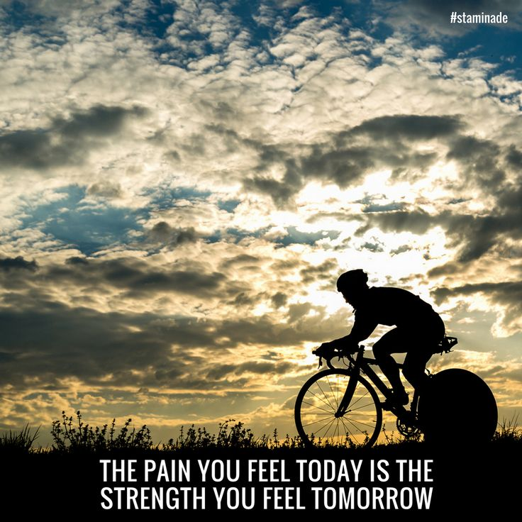 The pain you feel today, is the strength you feel tomorrow.