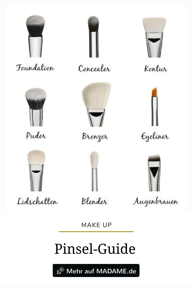 Pincel de maquiagem: qual ferramenta é para quê?   – Praktisches für den Alltag: Putztipps und mehr