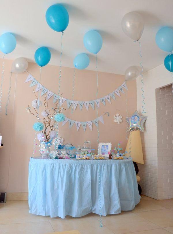 Un anniversaire Reine des Neiges pour les 6 ans d�El�ana