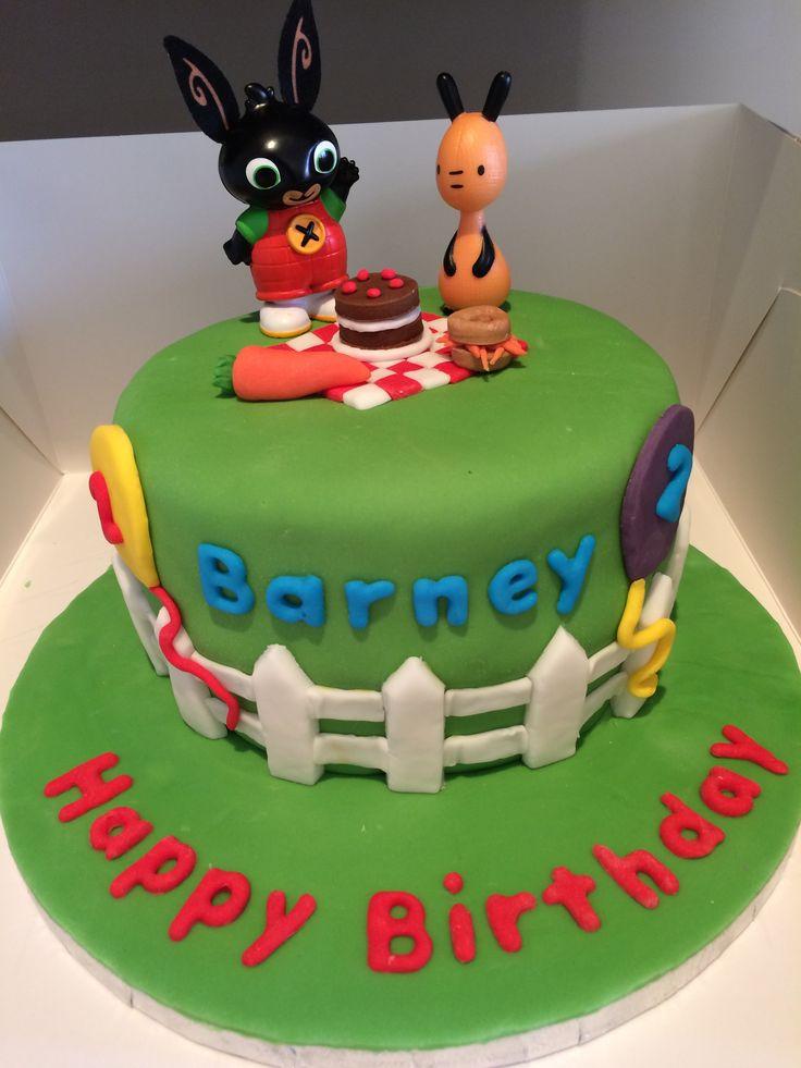 Rabbit Cake Birthday Jelly