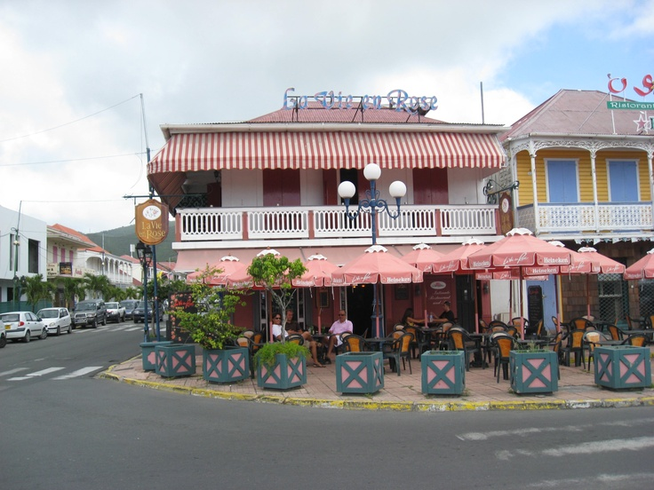 La Vie En Rose Restaurant St Martin