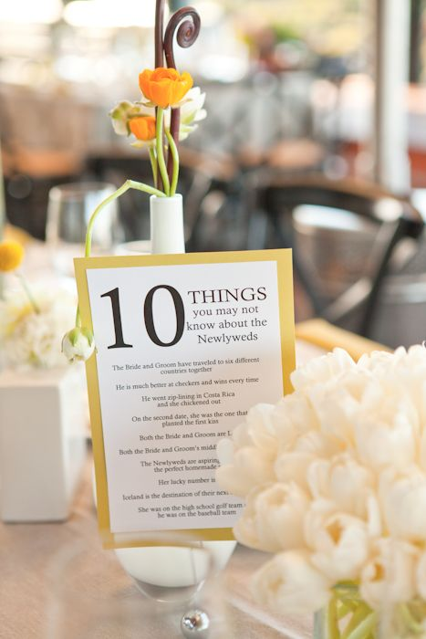 52 best Unique Table Numbers images on Pinterest | Wedding ideas ...