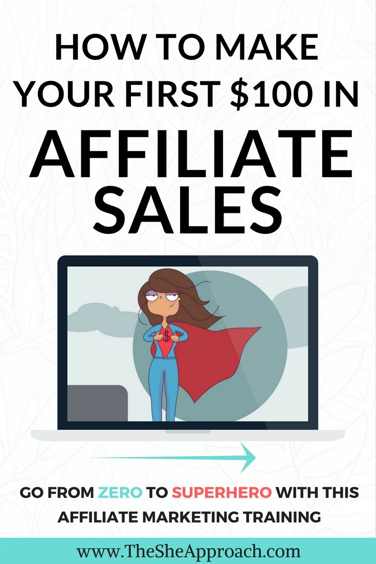 How to make your first $100 in affiliate sales, make money blogging and become an affiliate marketing expert. #affiliatemarketing #makemoneyblogging Make money blogging with this affiliate marketing training!