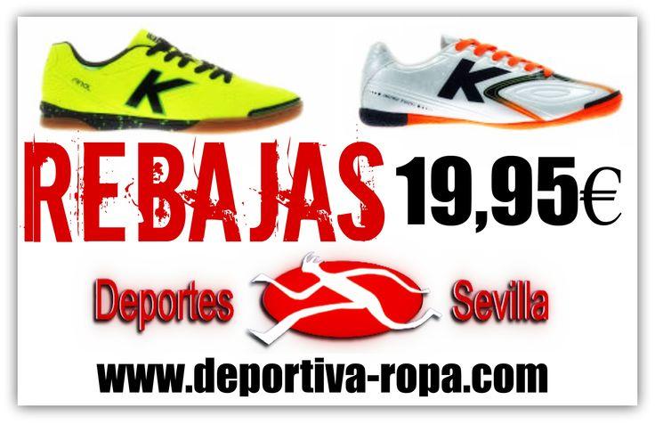 ¡¡REBAJAS en Deportes Sevilla!! ¡¡Botas de fútbol sala Kelme a tan sólo 19,95€ en nuestras tiendas y en http://www.deportiva-ropa.com/112-venta-botas-de-futbol-kel…!! #FelizLunes #Rebajas #DeportesSevilla #Fútbol #FútbolSala #FutSal #Sevilla #BotasFútbol #Kelme #Descuentos #Ofertas #Promociones