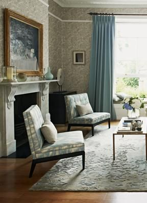 Town and Country collection from Zoffany - easy to live with restful blues