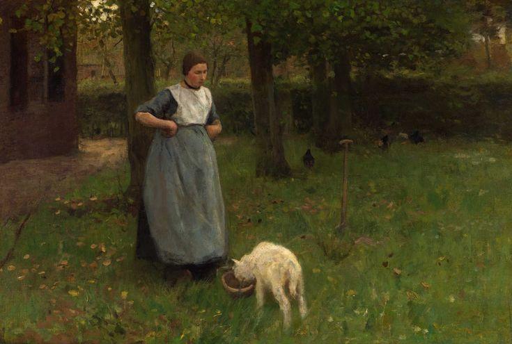 Anton Mauve | Romantic / Genre painter | The Barbizon school of painters | Tutt'Art@ | Pittura • Scultura • Poesia • Musica