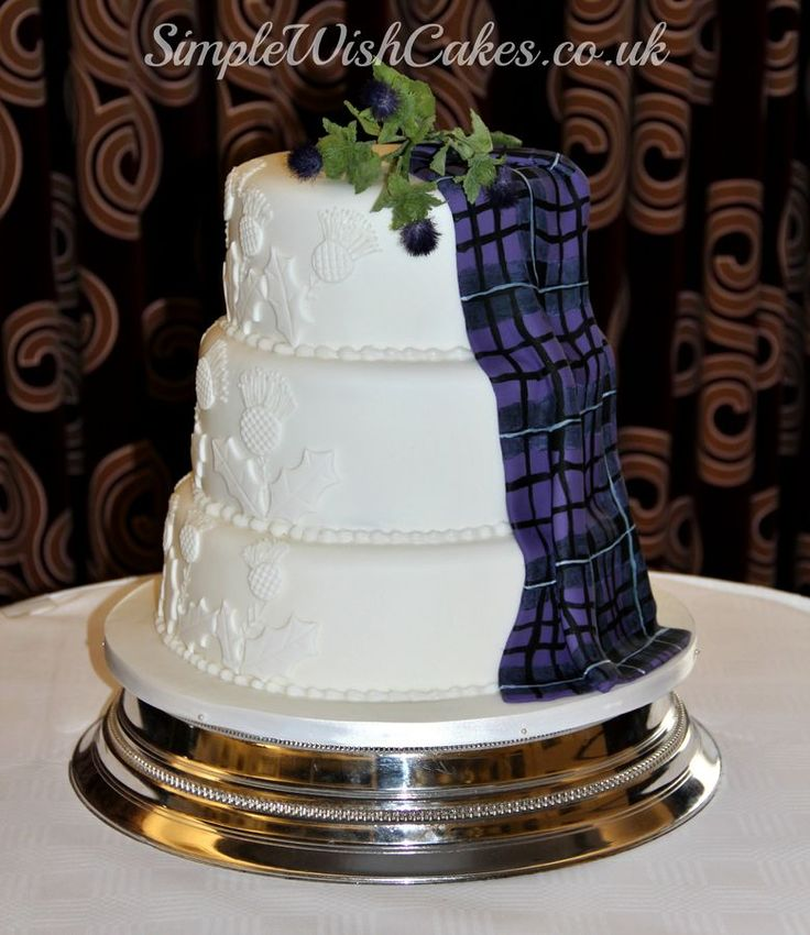 Best 25 Scottish Wedding Cakes Ideas On Pinterest