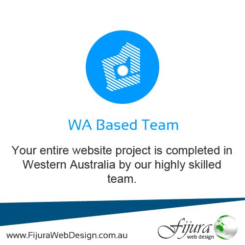 WA Based Team: Your entire project is completed in Western Australia by our highly skilled team. #WebDesign #SEO #Marketing #Design