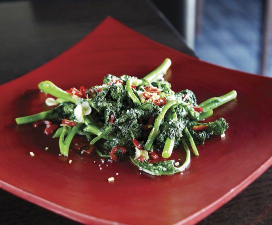 Rapini With Chile And Meyer Lemon Recipe