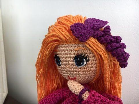 Como tejer piernas y botas muñeca Sofía amigurumi By Petus (1/5) PRIMERA PARTE - YouTube