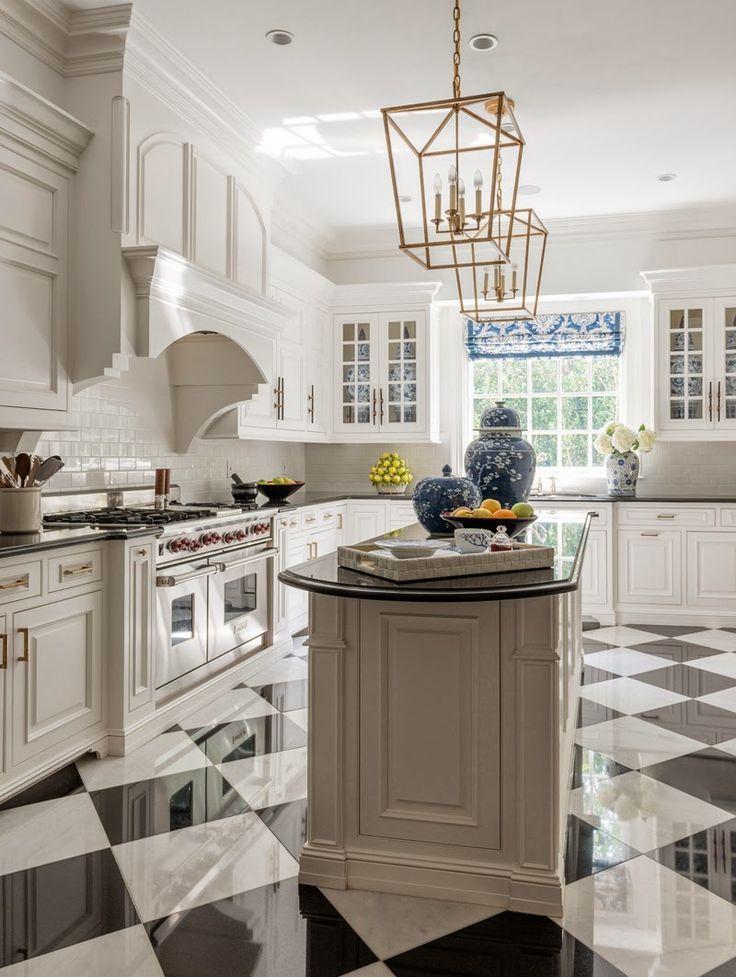 4 gorgeous kitchen sink ideas - Black And White Kitchen Floor Ideas