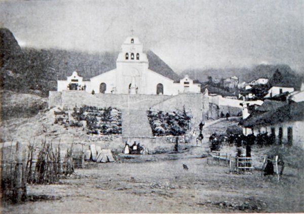 Bogota Antigua _Iglesia de Nuestra Señora de Egipto, barrio Egipto, año desconocido