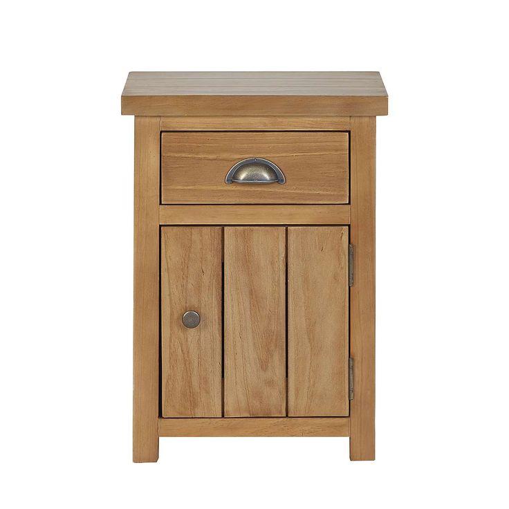Harrison Pine Bedside Table   Dunelm